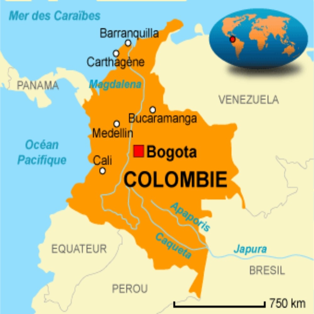 COLOMBIE : CARTE D'IDENTITE : CUBA 2018   Chroniques sur l